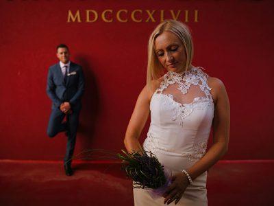 Poroka Rimske terme - Damijana + Marko