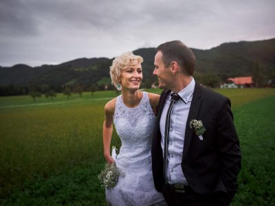 Poroka Ribnik Lisjak ⎮ Tina + David
