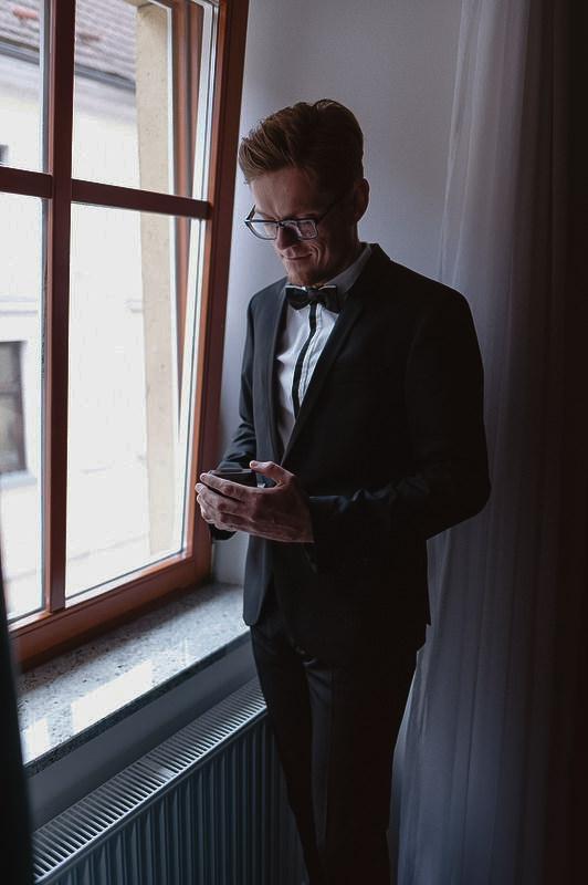 poročna obleka priprave poročni prstan